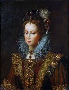 Young Lady Elizabeth, later Elizabeth I, Tudor, Queen of England Elizabeth I, Young Queen Elizabeth, Anne Boleyn, Tudor History, British History, Historical Costume, Historical Clothing, Isabel I, Elizabethan Era