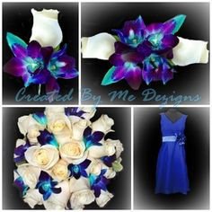 Wedding Flower Package 20 pieces custom made by CreatedByMeDezigns, $365.00