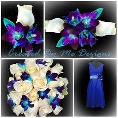 Wedding Flower Package 20 pieces custom made by CreatedByMeDezigns, $365.00