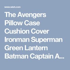 The Avengers Pillow Case Cushion Cover Ironman Superman Green Lantern Batman Captain America Spider-Man Deformation Jin Gangbo pie Transformers decepticons for Collector (Batman) (Size: 150 g, Color: