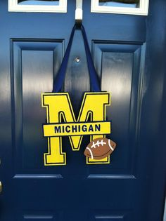 Great for welcoming all fellow Wolverines into your home