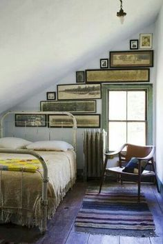 Love the color scheme and rustic charms.