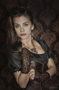 Steampunk. Alexandra 2 by Allsteam.deviantart.com on @DeviantArt