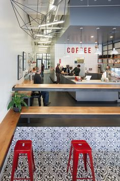 29bd63a245651f3d4df33559fc51615f Modern Coffee Oakland Modern Coffee Shop   Contemporist