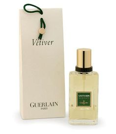 Vetiver by Guerlain is a Woody fragrance for men. Vetiver was launched in 1959. Top note is lemon; middle notes are tobacco and vetiver; base notes are nutmeg, tobacco and pepper.
