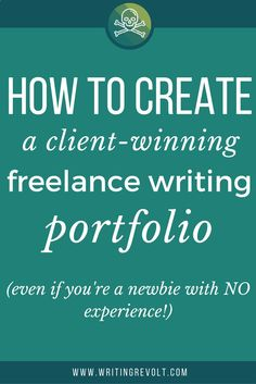 Read now, and learn how to create a client-winning freelance writing portfolio   samples, even if you have NO experience and feel totally clueless!