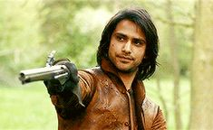 Although still young, D'Artagnan has seen enough of the world to despise its corruption and compromise. Raised in the country and trained as a fighter since he was a boy, only Athos can match his exceptional skill with a sword. Athletic and determined, he is also intensely romantic, with a moving capacity for true love. In time D'Artagnan will go on to be the greatest Musketeer of them all and a legend in his own lifetime.