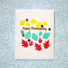 Gloria's craft room: Happy Thanksgiving!