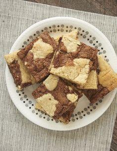 Black and White Cookie Bars - Bake or Break