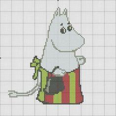 Moomin, Cross Stitch Patterns, Knitting Patterns, Hama Art, Hama Beads, Embroidery Stitches, Needlepoint, Needlework, Diy And Crafts