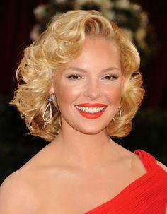 Marilyn Monroe Frisur: Katherine Heigl