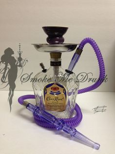 Hand Made Crown Royal 750ml Hookah/Shisha/Narghile/Sheesha on Etsy, $59.00