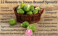 12 Reasons to Steam Brussel Sprouts