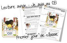 Rallye lecture « Je suis en CE1 » Un grand rallye de 10 albums sur le thème de l'école et des petits événements de la classe vécus par nos élèves de CE1 . J'uti…