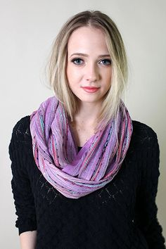 Women's Festival Bliss Infinity Scarf, Multicolor Boho Chic Shawl (Bejeweled Black) at Amazon Women's Clothing store: French Lilac, Plain Tops, Striped Scarves, Designer Scarves, Loop Scarf, Shawls And Wraps, Scarf Styles, Boho Chic, Women's Fashion