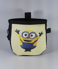 Climbing Chalk, Rock Climbing, Minion Rock, Minions, Lunch Box, Trending Outfits, Unique Jewelry, Awesome, Handmade Gifts