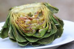 charcoal grilled artichoke | forgiving martha