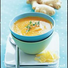 Carrot, Orange, and Ginger Soup
