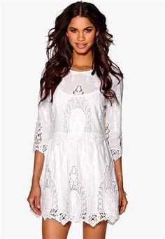 Make Way Adéle Dress White