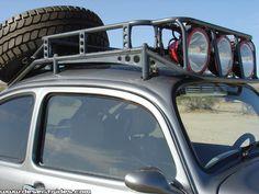 Roof rack, pretty cool. @beetle, vw, Baja, bug, Volkswagen
