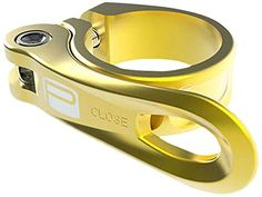 New Box Components Helix Bike Seatpost Clamp Bicycle Quick Release 31.8 Gold