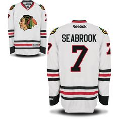 Get this Chicago Blackhawks Brent Seabrook White Premier Jersey w/ Authentic Lettering at ChicagoTeamStore.com
