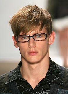 Fashion for men selecting short hair