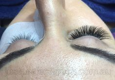 Russian volume eyelash extensions Volume eyelash extensions are multiple fine lashes (hand made fans) attached to your one natural eyelash. This new style of extensions use new advanced technique of eyelash extensions are super so? However create fullness without weighing down the natural lash and also can help