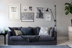 Äntligen har vi hittat den! Den perfekta soffan. Efter många års letande föll valet på en Le Grand Air från Rum21, vi valde en grå men det finns även en vit och blå klädsel. Jag kan meddela är vi trivs mycket bra ihop och jag är väldigt lättad över att...