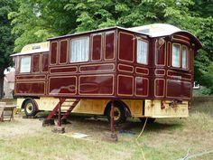 Woodworking For Beginners Projects Code: 6919200193 Vintage Rv, Vintage Trailers, Vintage Trucks, Vintage Campers, Gypsy Trailer, Gypsy Caravan, Gypsy Living, Cool Tents, Gypsy Wagon