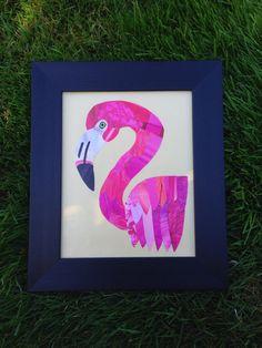 Flamingo by StuckTogetherShop on Etsy, $35.00