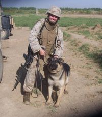 Rex, the military working dog that hunted down and disarmed improvised explosive devices in Iraq, will be reunited with his partner, retired Marine Corps veteran Corp. Military Working Dogs, Military Dogs, Police Dogs, Military Service, Military Life, War Dogs, Service Dogs, T Rex, Dog Life