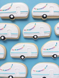 Camper Sugar Cookies