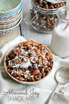 With loads of chocolate, almonds, and coconut, this Almond Joy Snack Mix is a sweet-and-salty treat to satisfy any craving!
