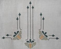Sue Ellen's Lily:Working here as a composition with the corner version or can be buy itself, this elegant design is one of our most popular. vertical motif$50.00 per motif. Basic lily is 3 3/4 inches wide x 5 inches high, leaf tips are1 1/4 inches high x 7/8 inches wide, stems are proportionate.