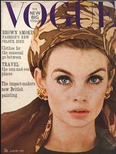 1967 Jean Shrimpton VOGUE cover