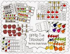 Freebie! Apple math & ELA