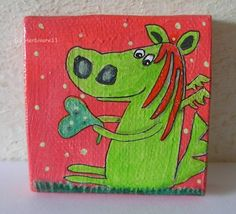 Drachen haben rote Haare und grüne Herzen !