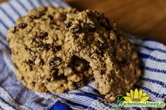 Cookies de Aveia Crocantes com Chocolate e Nozes - Veganana