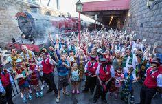 A #Universal hoje celebra 1 milhão de visitantes que usaram o Hogwarts Express  que legal :)
