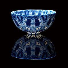 Nerikomi porcelain ceramic artist Dorothy Feibleman.