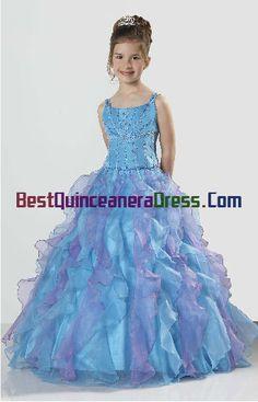 little girl birthday Pageant dresses,little girl birthday party ...