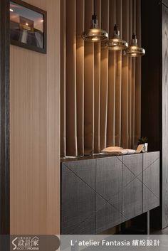 Home and Family Console Design, Foyer Design, Cabinet Design, Wall Design, House Design, Interior Desing, Modern Interior, Interior Architecture, Interior Decorating