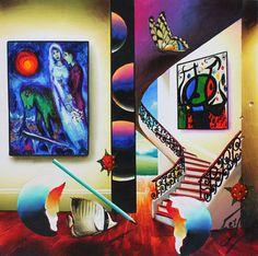 ferjo paintings for sale   Fernando de Jesus Oliviera) Ferjo Art for Sale
