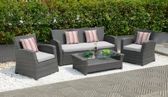 OUR RATTAN COLLECTION IS DESIGNED FOR        COMPLETE COMFORT.WE USE SPECIALLY                                    MANUFACTURED UV-RESISTANT RATTAN THAT                                CAN WITHSTAND ALL WEATHER CONDITIONS,                                SUPPORTED BY FULLY WELDED ALUMINIUM                                  FRAMES.THIS RANGE IS NOT ONLY                                        COMFORTABLE;IT`S ALSO PRACTICAL.