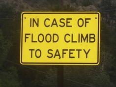 flood safety tip
