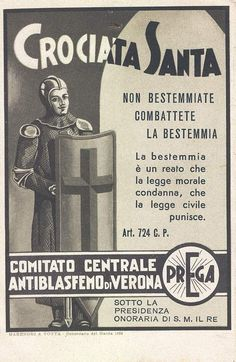 Verona - Crociata Santa - 1934