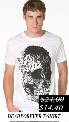 50% Discount. Dead forever t-shirt. Now it's only.... $14.40