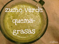 Zumo Verde Quema-Grasa