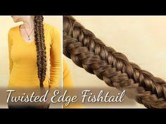 Twisted Edge Fishtail - YouTube